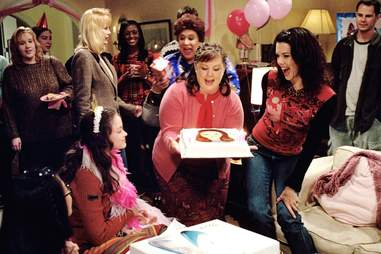 gilmore girls birthday party