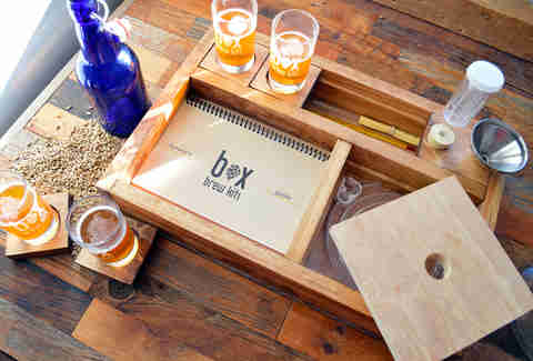 brew box homebrew kit