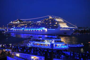4 month cruise
