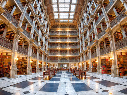Peabody Library, Johns Hopkins University