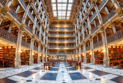 Peabody Library, Johns Hopkins University