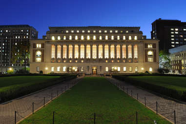 Butler Library Columbia