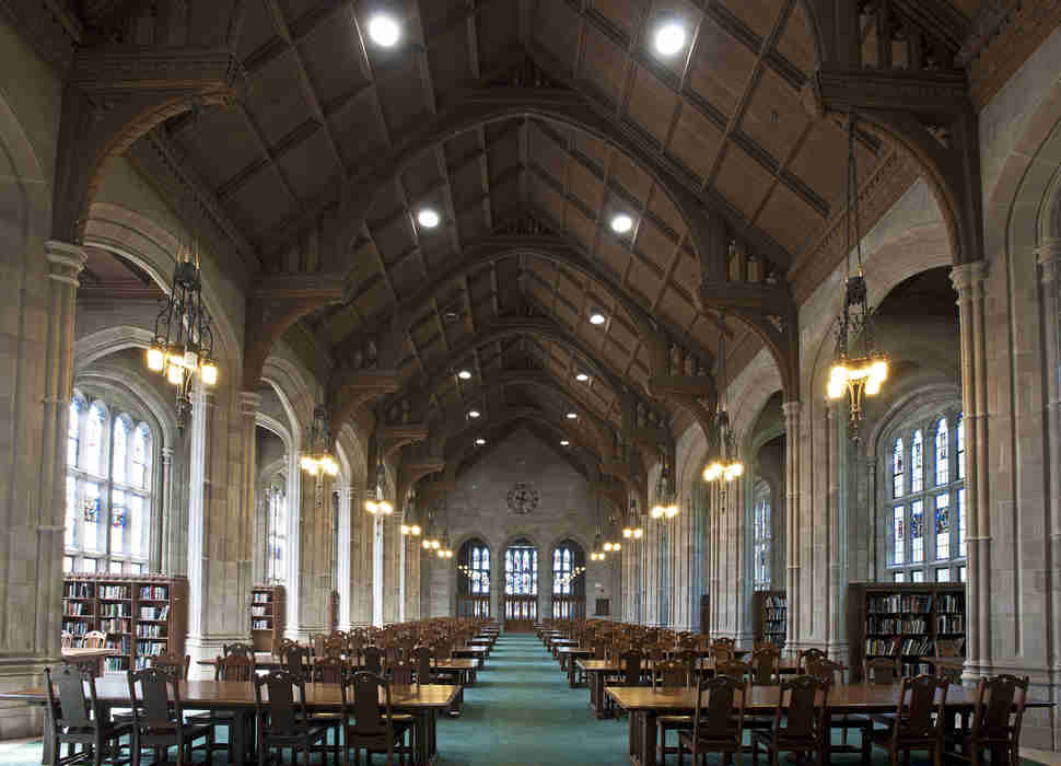 Bapst Library Boston College