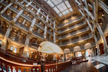 John Hopkins library