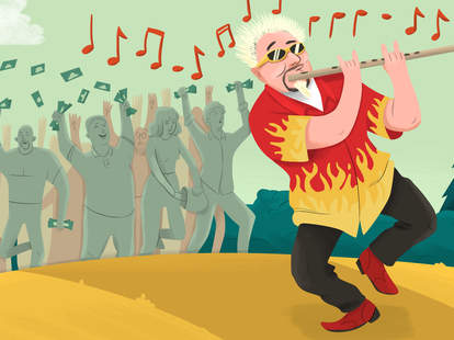 Guy Fieri Illustration