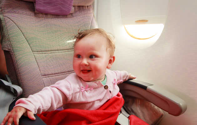 The Worst Mistakes People Make When Flying With Small Children