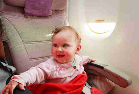 The Worst Mistakes You Make When Flying With Small Children