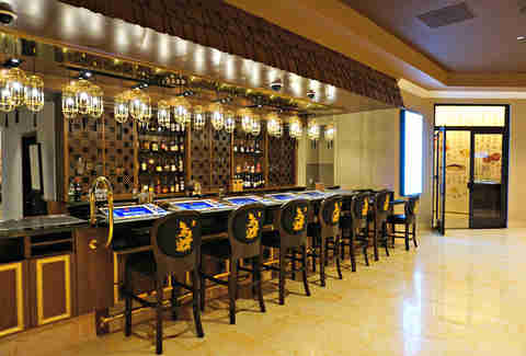 bar at lucky dragon