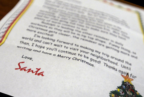 How to get a letter from santa claus on christmas thrillist getty images spiritdancerdesigns Images