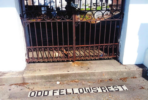 Odd Fellows Rest, New Orleans