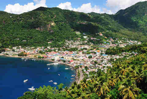 The Rugged Caribbean Island That's an Adventure Paradise