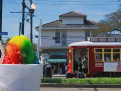 Pandora's Snoballs New Orleans