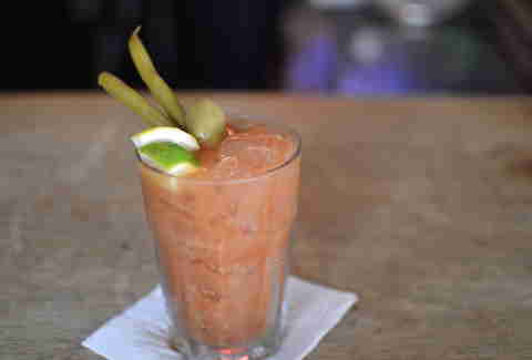 Erin Rose Bar, bloody mary