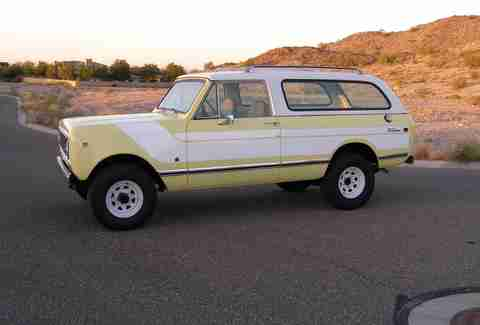 1976 International Harvester Scout Traveler