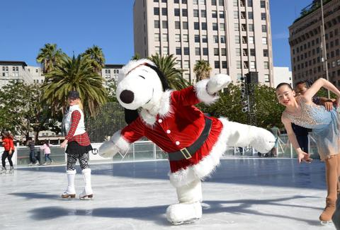 Holiday Ice Rink Downtown Los Angeles