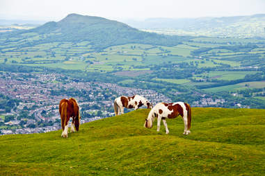 Brecon Beacons National park in Wales