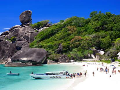 Similan islands, Phuket, Thailand