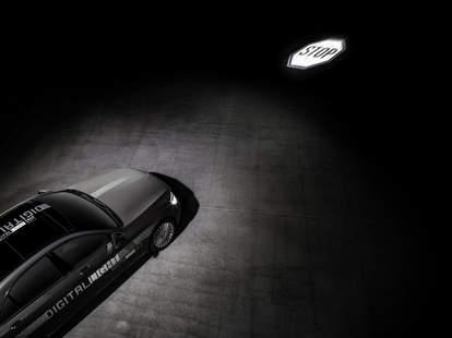 Mercedes' new digital headlights