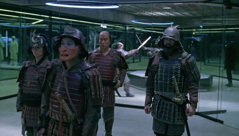 samurai warriors on hbo westworld