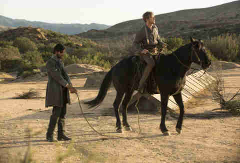 ben barnes and jimmi simpson on hbo westworld