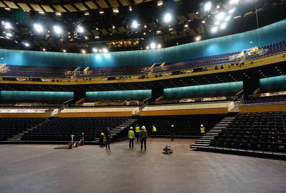 Inside Mgms New Park Theater Music Venue In Las Vegas Thrillist