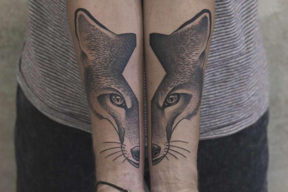 aesthetic animal crossing leaf tattoo