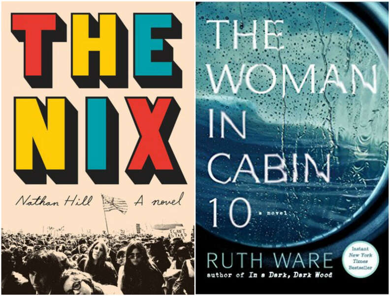 the nix nathan hill the woman in cabin 10 ruth ware