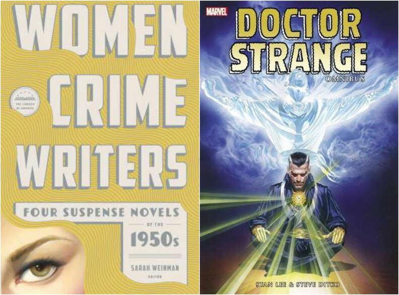 women crime writers doctor strange omnibus