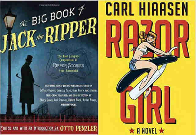 the big book of jack the ripper razor girl carl hiaasen
