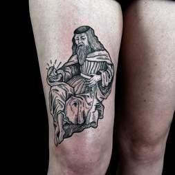 Toe Loop Tattoo