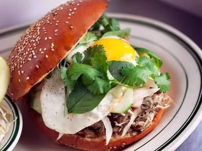 "All Star Sandwich Bar ""Mr. Miyagi"" Sandwich"
