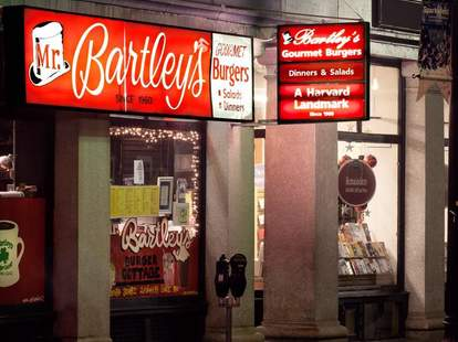 Mr. Bartley's, Harvard