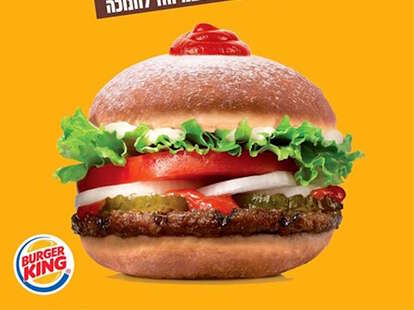 Ketchup Donut Whopper