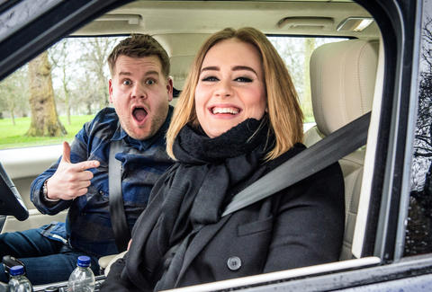 james corden adele