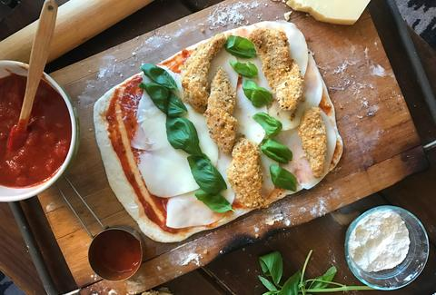 Chicken Parm Stromboli