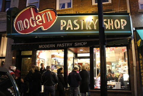 Modern Pastry Shop Boston North End
