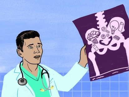 craziest things ER doctors have seen