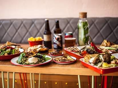 BabaBoom London Middle Eastern food restaurant