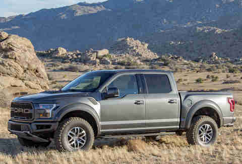 2017 ford f 150 raptor first drive review thrillist. Black Bedroom Furniture Sets. Home Design Ideas