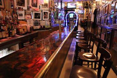 Jimmy's Corner bar counter