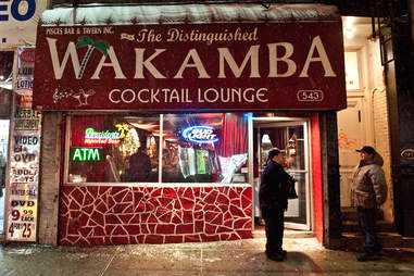 Wakamba Cocktail Lounge Sign