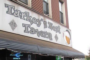 Turkey's Nest Tavern sign