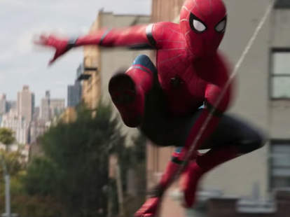 spider man in spider man homecoming