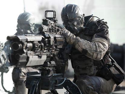 Spectral Netflix Soldier