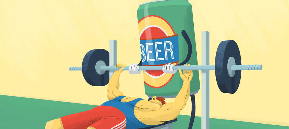 The Case for the Post-Workout Beer