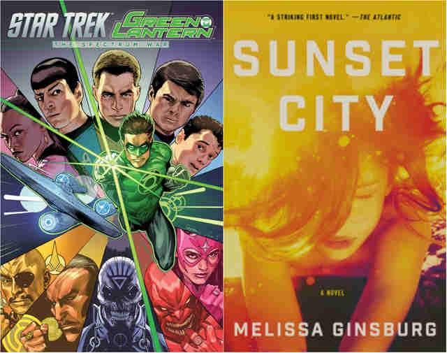 sunset city star trek green lantern the spectrum war