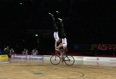 The Artistic Cycling Championships Are Totally Real and Yes, Completely Insane