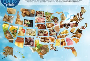 This Map Shows The Most Searched For Holiday Recipes in All Fifty States
