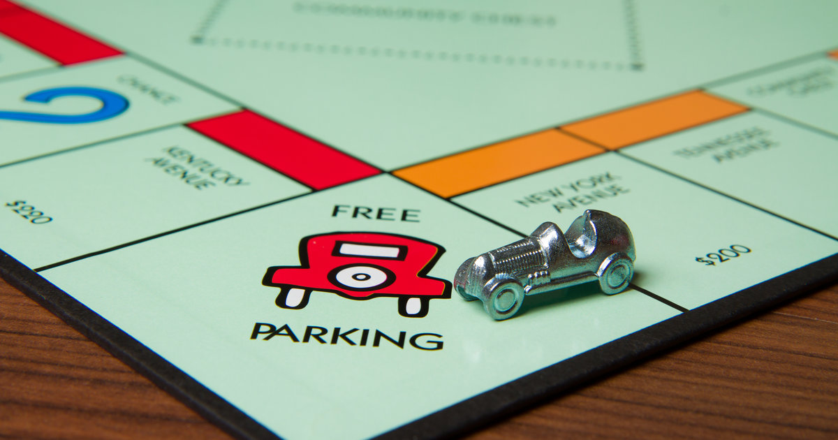Monopoly Gamer Frei Parken