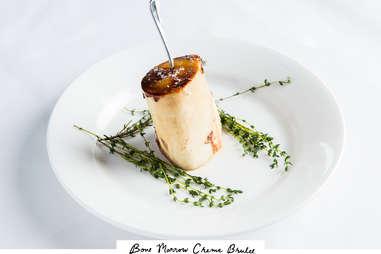 Bone marrow crème brûlée